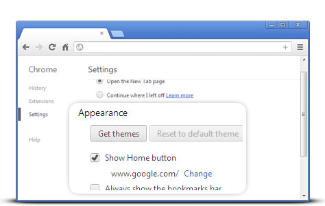 Change Home Page To Google Co Uk