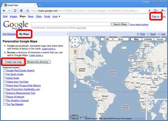 Как сделать свою карту на google