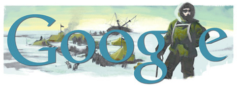 Google Logo: Ernest Shackleton's Birthday - Anglo-Irish explorer
