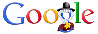 St David's Day Google Logo 2011