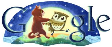 Google Logo: Edward Lear's 200th Birthday - British Author and Illustrator