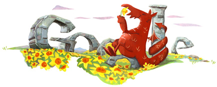 Google Logo: Saint David's Day - Wales National Day