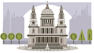 Christopher Wren's 382nd Birthday