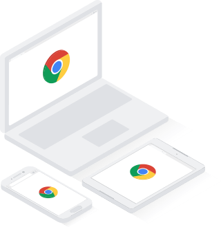 Chrome works on all devices – Chromebook, Pixel and desktop.