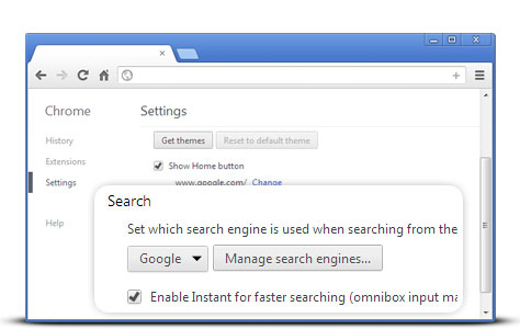how to make google my default