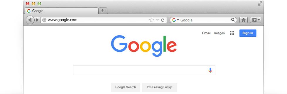 how to set google to usa