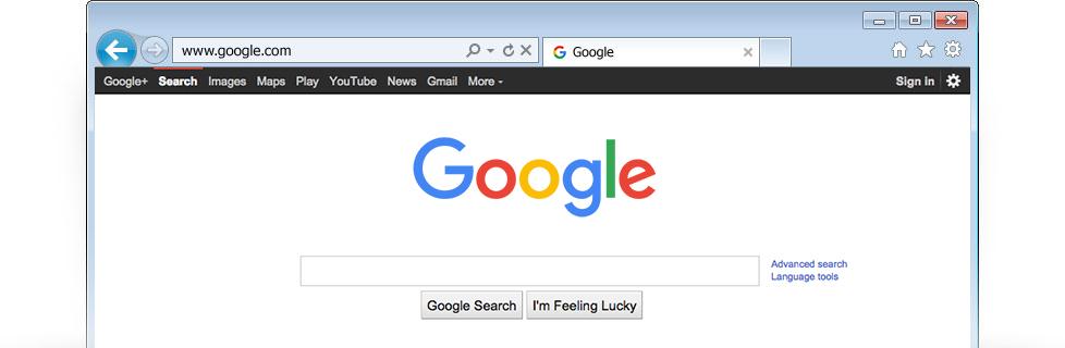 How to make bt yahoo my homepage on google chrome
