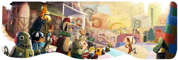 Happy Holidays | Google wishes with a new and very interesting Doodle