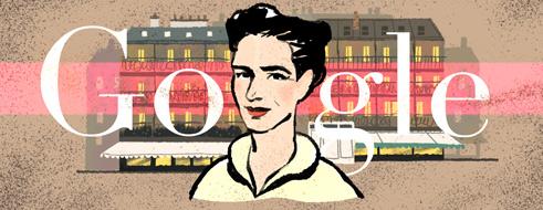 Simone de Beauvoir's 106th Birthday