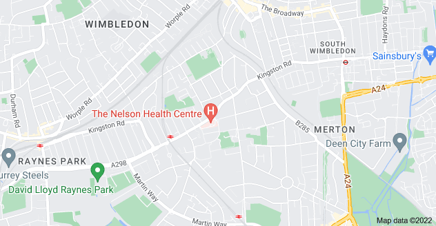 Map of Merton Park, London SW19 3NT