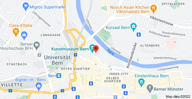 Map of Hodlerstrasse 8, 3011 Bern, Switzerland