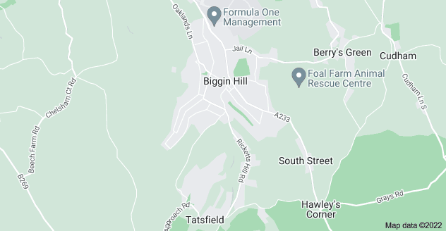 Map of Biggin Hill