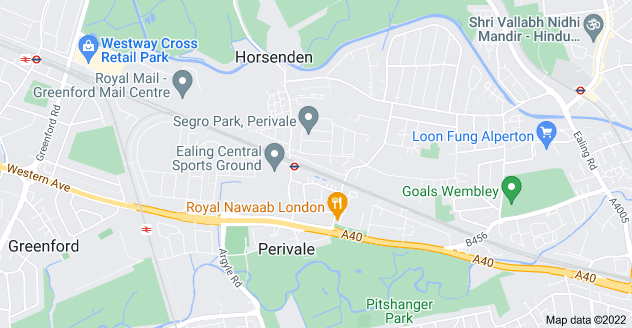 Map of Perivale