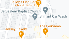 Map of Jerusalem Baptist Church