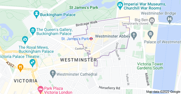 Map of London SW1H