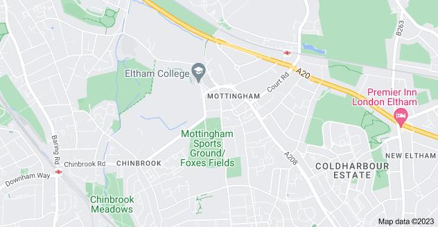 Map of Mottingham, London SE9 4JJ
