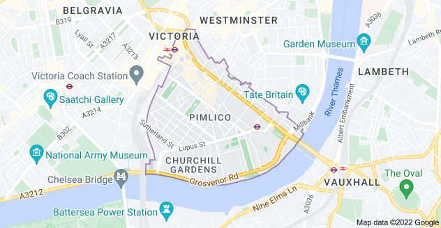 Map of London SW1V