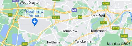 Hounslow Taxi Map