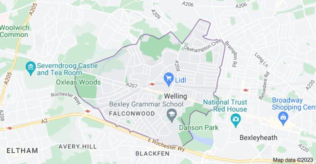 Map of DA16