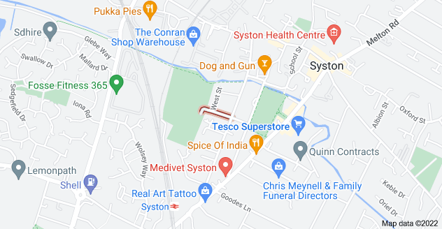 Map of Necton St, Syston, Leicester LE7 1HF