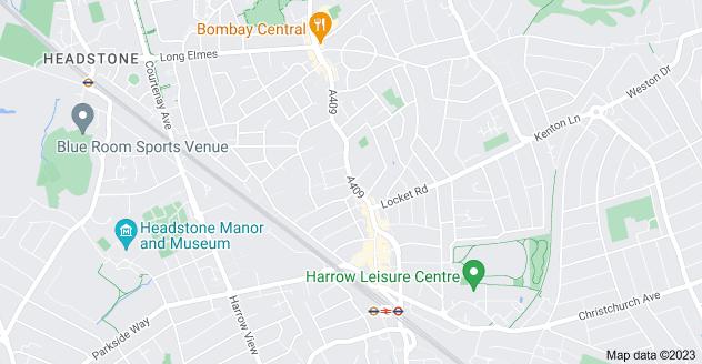 Map of Wealdstone, Harrow HA3 5DT