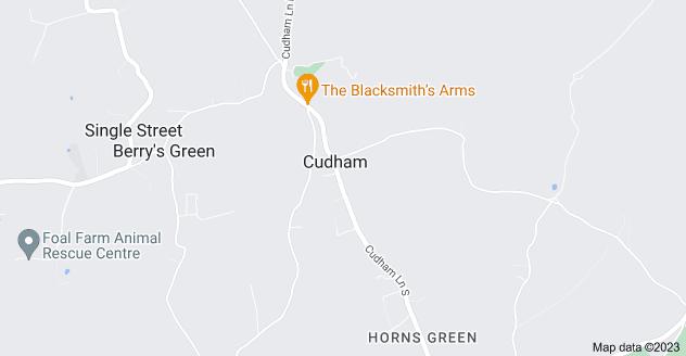 Map of Cudham