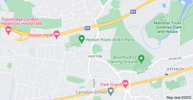 Map of Heston, Hounslow TW5 0RD