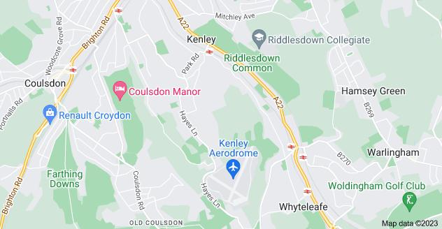 Map of Kenley
