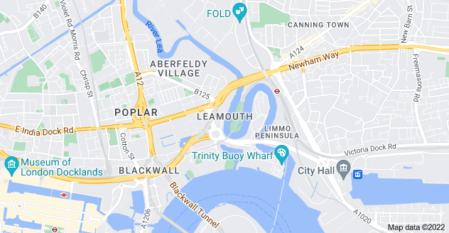 Map of Leamouth, London E14 0JJ