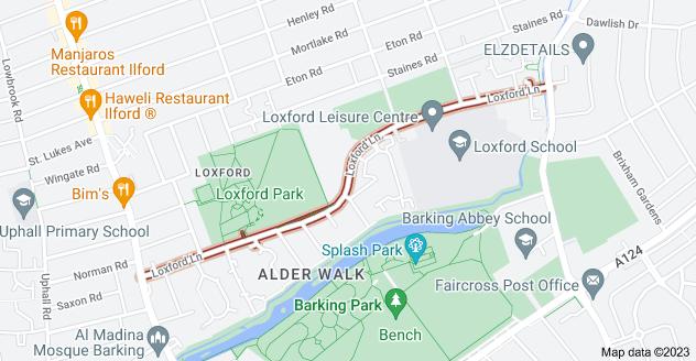 Map of Loxford Ln, Ilford IG1 2PJ