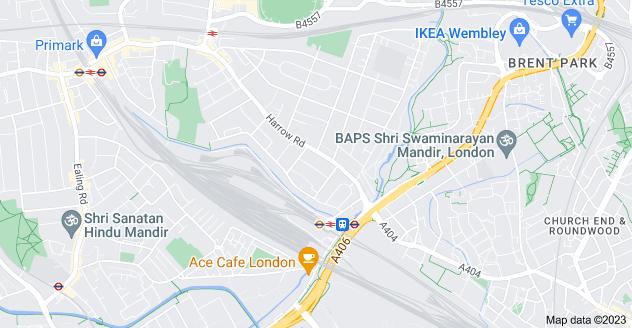Map of Tokyngton, Wembley HA9 6DQ