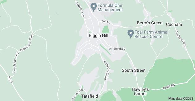 Map of Biggin Hill