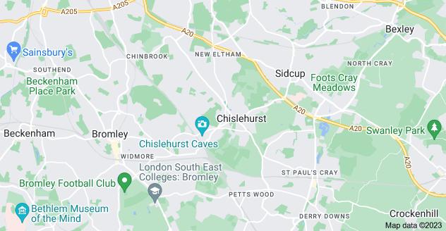 Map of Chislehurst
