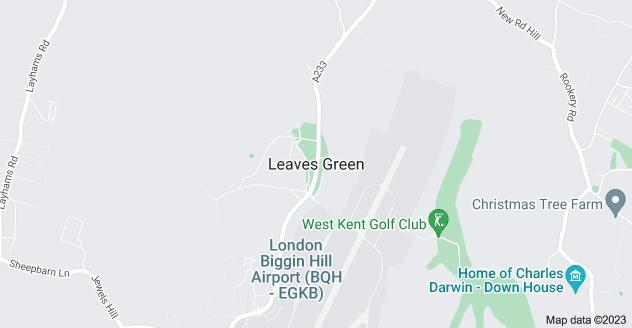 Map of Leaves Green, Keston BR2 6DP