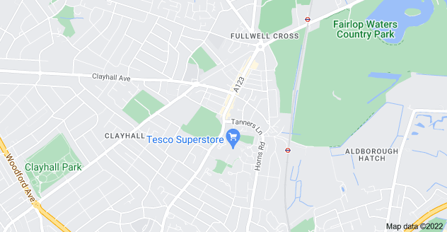 Map of Barkingside, Ilford IG6 1QB