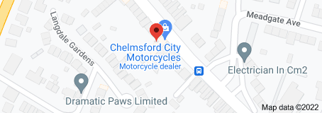 Google Map of Chelmsford City Motorcycles